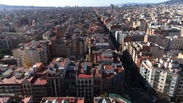 Thumbnail for Streets and Residential Houses in Barcelona