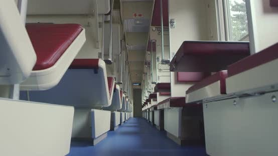 Thumbnail for Inside a Passenger Train in Russia