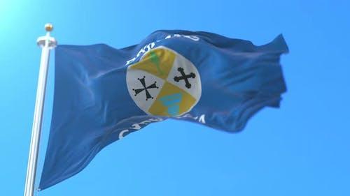Calabria Flag, Italy
