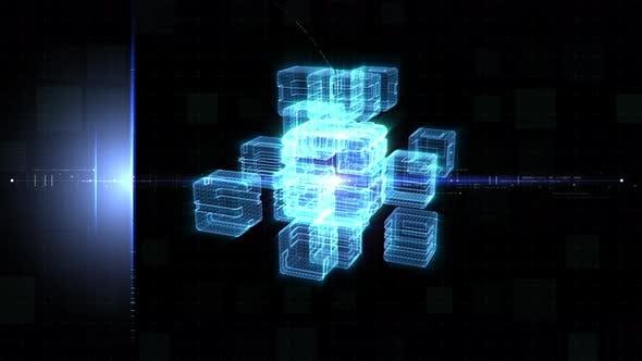 Thumbnail for Futuristic Quantum Computing Simulation 01