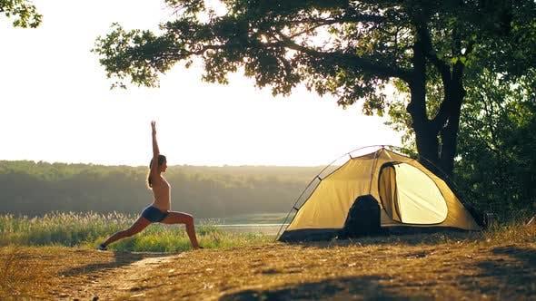 Thumbnail for Woman Doing Yoga