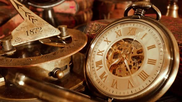 Thumbnail for Old Pocket Watch Vintage Still Life