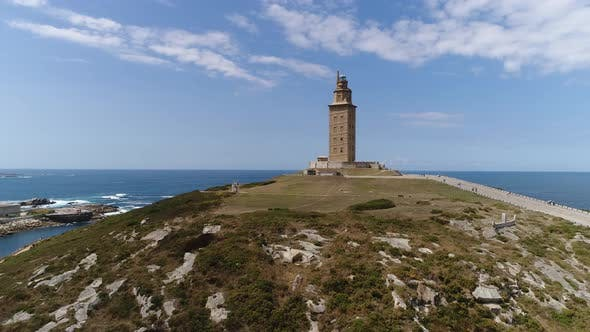 Thumbnail for Medieval Tower of Hercules in A Coruña, Spain
