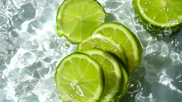 Falling of Segments of Lime 3