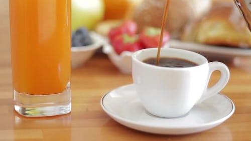 Kaffee Frühstück