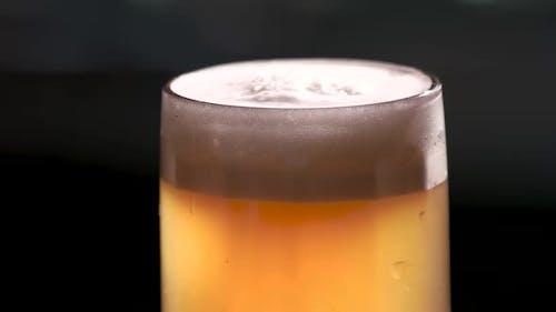 Pint of Beer Rotating