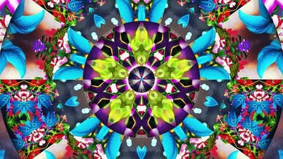 Fantasy Garden Kaleidoscope