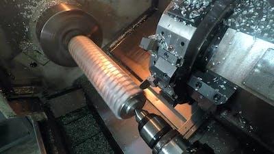 metal part machining
