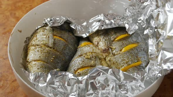 Thumbnail for Baked Fish In Foil