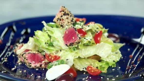 Nicoise Salad Quail Egg