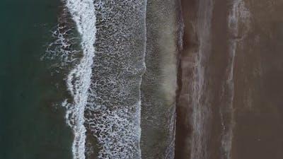 Sea Ocean Waves Hitting Shore