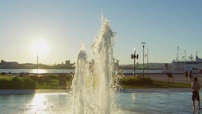 The Fontaine Du Quai Paquet