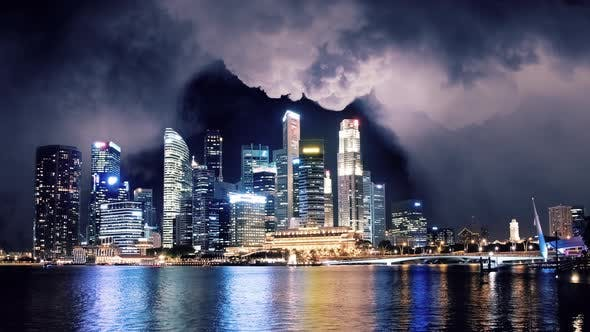 Cover Image for Singapore Storm Clouds