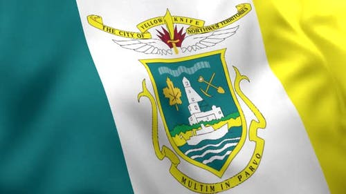 Yellowknife City Flag (Canada)