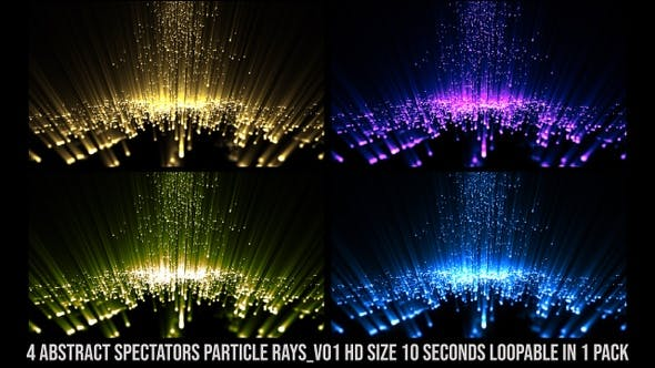 Spectators Particle Rays Pack V01