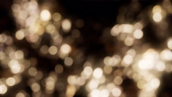 Thumbnail for Abstrakter Hintergrund mit beweglichen und flackernden Partikeln