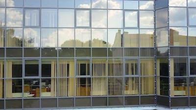 Modern Architecture Facade, Business Concept.