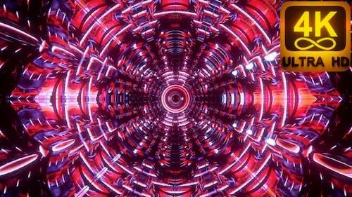 3D 4k Kaleidoscope Sacred Geometry Geometric Patterns For Live Concert Music Video Abstract Dmt Lsd