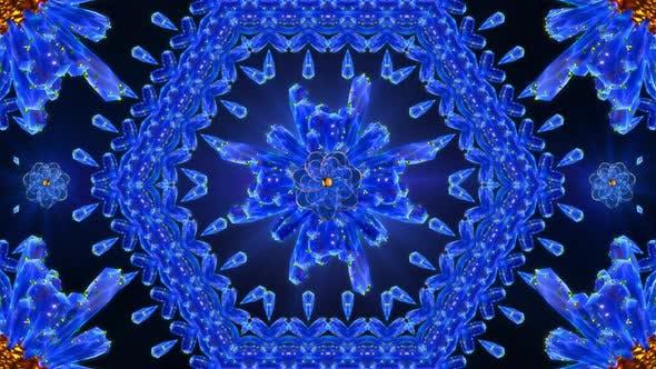 Thumbnail for Blue Crystalline Kaleidoscope