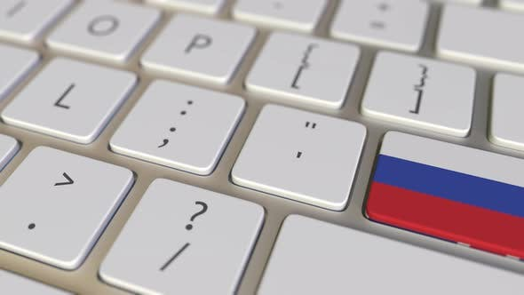 Thumbnail for Key with Flag of Russia Switches To Key with Flag of Great Britain