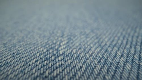 Fond Tissu Denim Bleu Macro