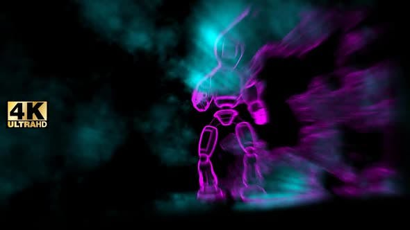 Thumbnail for Futuristic Background Humanoid