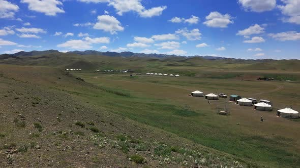 Thumbnail for Traditional Yurts Between Montains in Mongolia