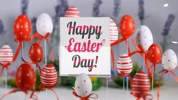 Thumbnail for Happy Easter Day Stop Motion Card