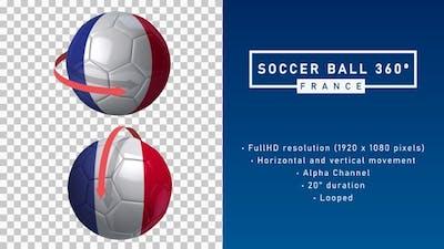 Soccer Ball 360º - France
