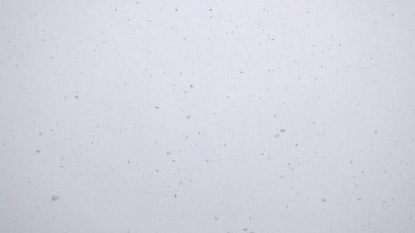 Thumbnail for Seamless Video, Snow Flakes Falling at Winter Day