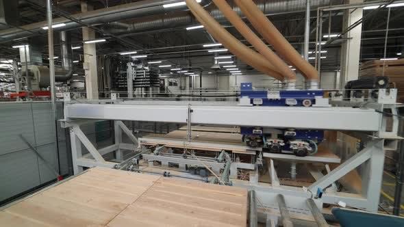 Moderne Ausrüstung Polieren Holzbretter