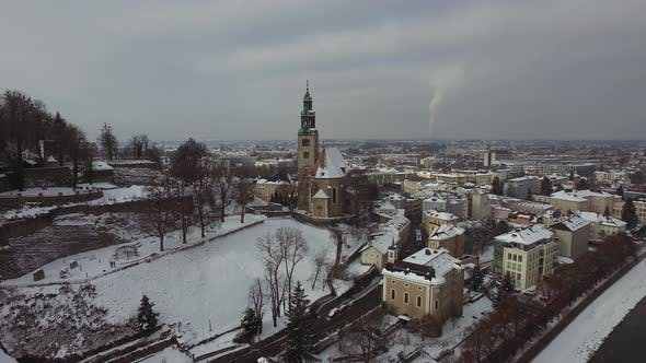 Thumbnail for Aerial view of Maria Himmelfahrt Church