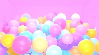 Colorful Balls Room