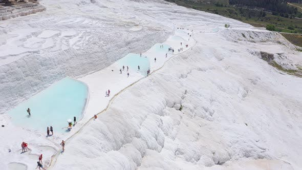 Thumbnail for Aerial Footage of Pamukkale