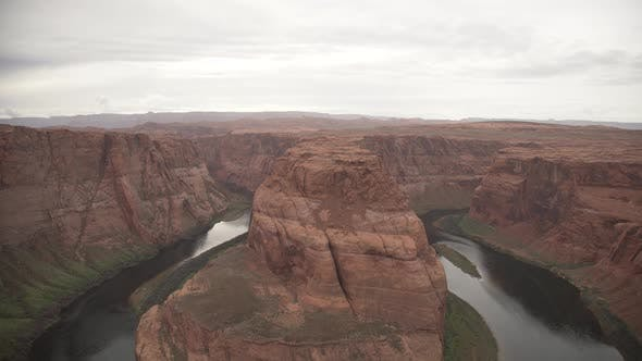 The Horseshoe Bend in Arizona