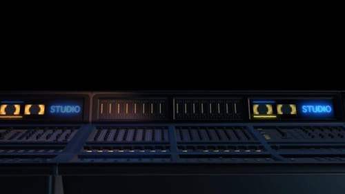 Recording Studio Mixer 5