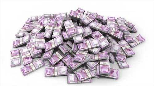 Indian Rupee Money Bills