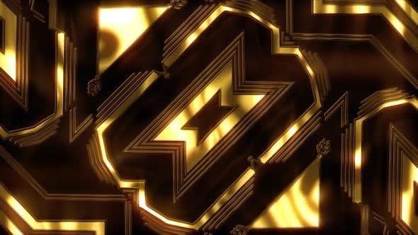 Gold Lyxury Patterns