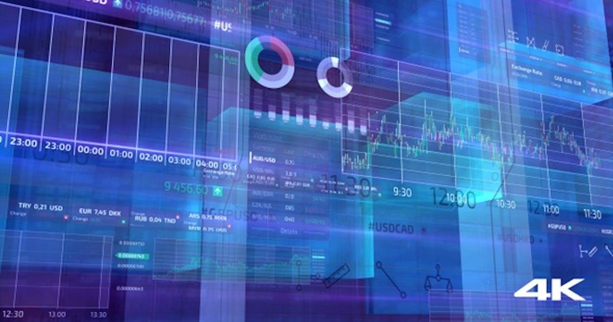 Business Finance Infographics 4K