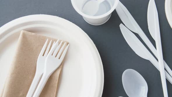Thumbnail for Disposable Plastic Dishes 12