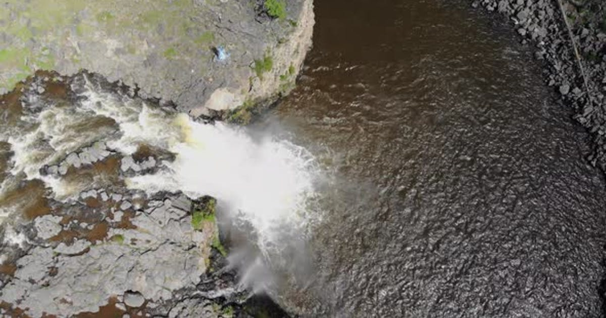 Overhead Waterfall Waters
