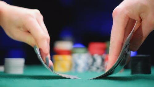 A Players Are Holding Royal Flash Cards in Hand and They Bet