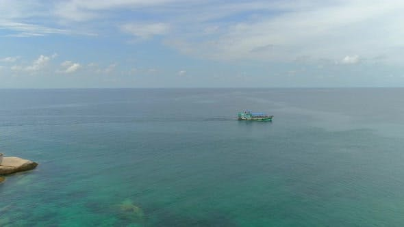 Thumbnail for Diving Boat in Sea