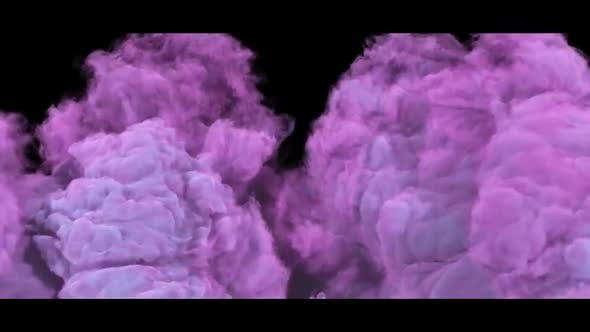 Thumbnail for Pink Slowmotion Smoke Background
