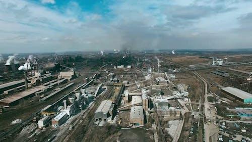 Aerial of Metallurgical Plant