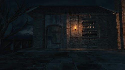 Scary Farm House Tv