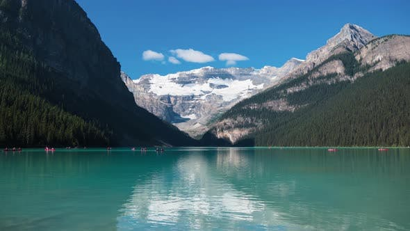 Thumbnail for Timelapse of a lake in Banff National Park