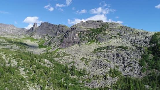 Thumbnail for Aerial Mountain Landscape part