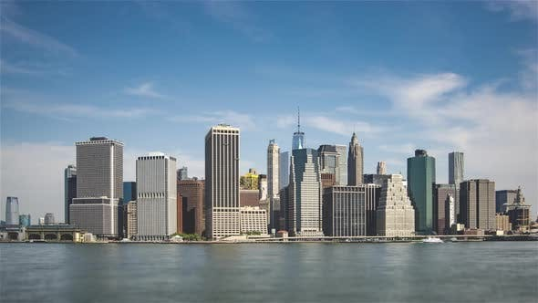 Thumbnail for Aerial View of Lower Manhattan in New York