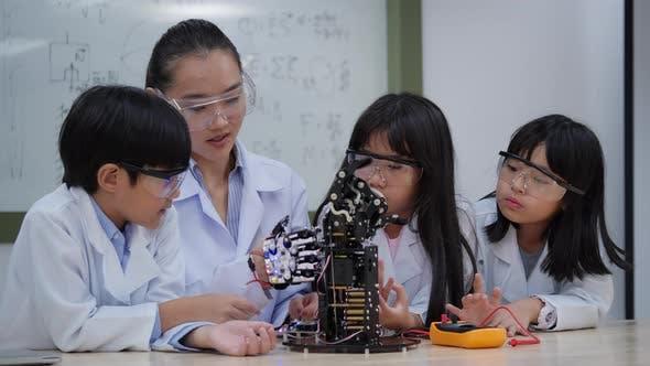 Thumbnail for Study robotics technology